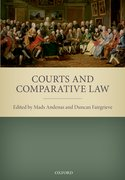 Cover for Courts and Comparative Law