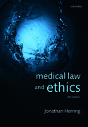 Cover for Medical Law and Ethics