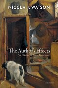 Cover for The Author's Effects - 9780198847571