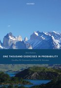 Cover for One Thousand Exercises in Probability