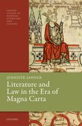 Cover for Literature and Law in the Era of Magna Carta