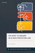 Cover for The Right to Erasure in EU Data Protection Law