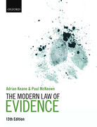 Cover for The Modern Law of Evidence