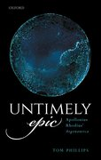 Cover for Untimely Epic
