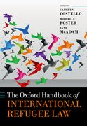 Cover for The Oxford Handbook of International Refugee Law