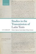 Cover for Studies in the Transmission of Latin Texts