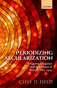 Cover for Periodizing Secularization