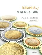 Cover for Economics of the Monetary Union