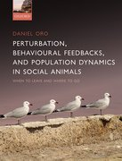 Cover for Perturbation, Behavioural Feedbacks, and Population Dynamics in Social Animals