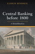 Cover for Central Banking before 1800