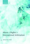 Cover for Abuse of Rights in International Arbitration