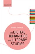 Cover for The Digital Humanities and Literary Studies