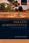 Cover for Barayin Morphosyntax