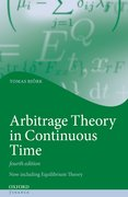 Cover for Arbitrage Theory in Continuous Time