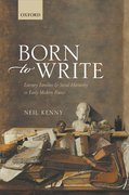 Cover for Born to Write