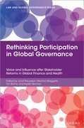 Cover for Rethinking Participation in Global Governance