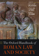 Cover for The Oxford Handbook of Roman Law and Society - 9780198852896