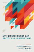 Cover for Anti-Discrimination Law in Civil Law Jurisdictions