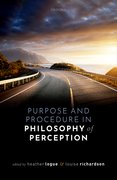 Cover for Purpose and Procedure in Philosophy of Perception