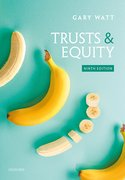Cover for Trusts & Equity