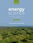 Cover for Energy Science