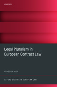 Cover for Legal Pluralism in European Contract Law