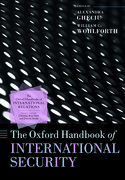 Cover for The Oxford Handbook of International Security