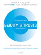 Cover for Equity & Trusts Concentrate