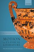 Cover for Motion in Classical Literature