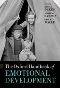 Cover for The Oxford Handbook of Emotional Development