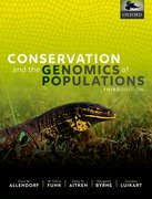 Cover for Conservation and the Genomics of Populations