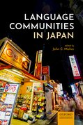 Cover for Language Communities in Japan