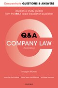 Cover for Concentrate Questions and Answers Company Law