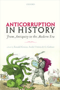 Cover for Anticorruption in History