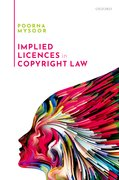 Cover for Implied Licences in Copyright Law