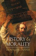Cover for History and Morality