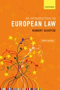Cover for An Introduction to European Law