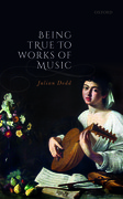 Cover for Being True to Works of Music