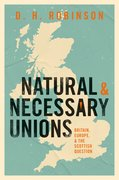 Cover for Natural and Necessary Unions - 9780198859710