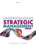 Cover for Understanding Strategic Management