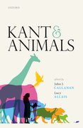 Cover for Kant and Animals