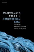 Cover for Measurement Error in Longitudinal Data