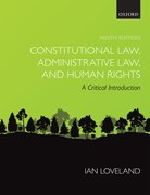 Cover for Constitutional Law, Administrative Law, and Human Rights