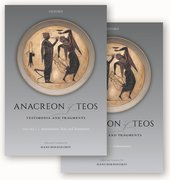 Cover for Anacreon of Teos