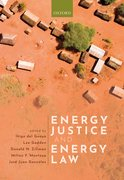 Cover for Energy Justice and Energy Law