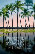 Cover for Polynesian Syntax and its Interfaces