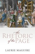 Cover for The Rhetoric of the Page