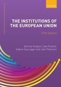 Cover for The Institutions of the European Union