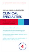 Cover for Oxford Assess and Progress: Clinical Specialties - 9780198862550