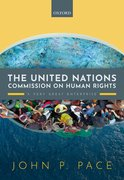 Cover for The United Nations Commission on Human Rights - 9780198863151